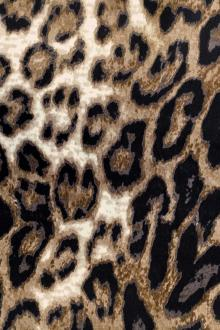 Silk Charmeuse Print with Leopard Spots0