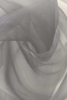 Japanese Polyester Extra Fine Organza in Grey0