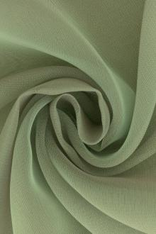 Iridescent Polyester Chiffon in Sage0