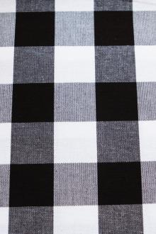 Cotton Woven Canvas Gingham Print0