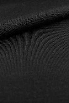 Bamboo Jersey in Black0