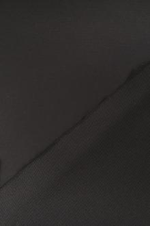 Double Face Polyester Twill Back Satin in Black0
