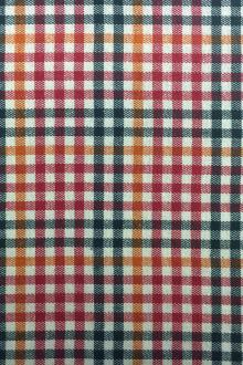 Cotton Twill Flannel With Multicolor Check0