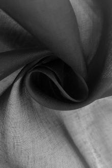 Swiss Cotton Organdy in Charcoal0