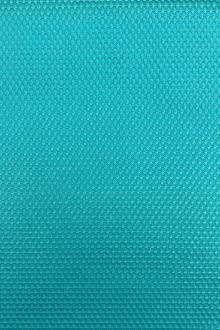 Stretch Cotton Poly Blend Pique in Aqua0