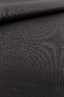 Linen Cotton Lycra Blend in Black0