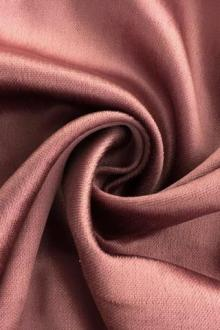 Silk and Rayon Panné Velvet in Mauve0