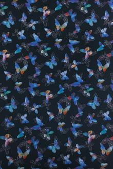 Cotton Broadcloth Butterflies Digital Print 0