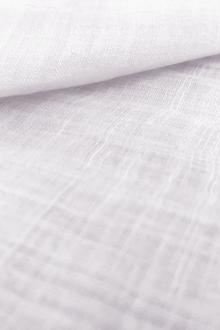 Linen Gauze in White0