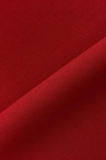 Italian Wool Satin Faille in Red0