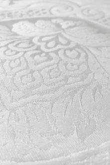 Silk Damask Brocade with Vintage Regal Patterns0