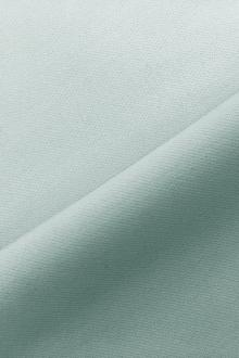 Italian Wool Satin Faille in Aquamarine0