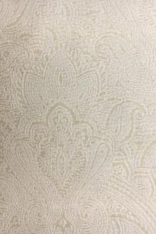 Indian Silk Brocade with Faint Paisley Patterns0
