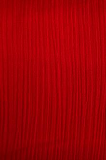 Italian Wool Crinkle in Red0