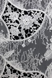 Embroidered Chantilly Lace0