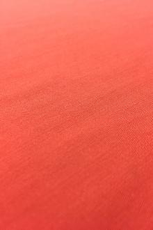 Viscose Satin Batiste in Coral0