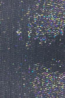 Clear Opalescent Sequins on Silk Chiffon0