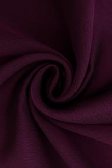 Iridescent Polyester Chiffon in Bordeaux0