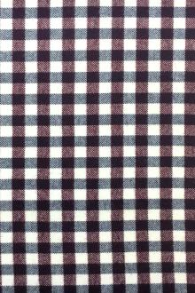 Cotton Wool Blend Flannel Check0