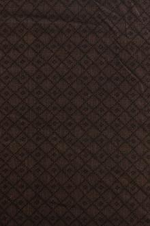Brown Cotton Woven Novelty 0