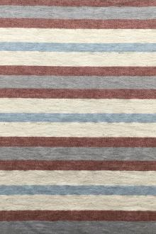 Japanese Cotton Blend Yarn Dyed Stripe0