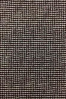 Italian Wool Blend Stretch Houndstooth Suiting 0