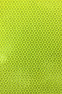 Waterproof Coated Polyester Mesh in Yellow0