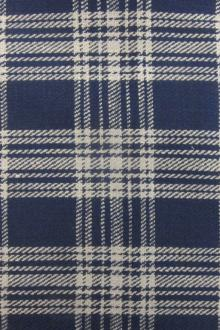 Heavy Woven Cotton Flannel Plaid0