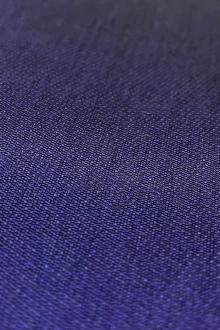 Silk and Polyester Zibeline in Royal Purple0