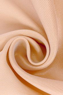 Metallic Polyester Twill in Champagne0