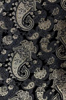Metallic Paisley Brocade0