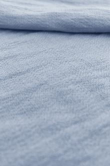 Rayon Nylon Blend Crepe in Dusty Blue0