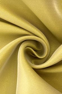 Metallic Polyester Twill in Gold0
