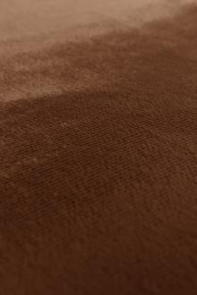 Italian Silk Rayon Panne Velvet in Chocolate0