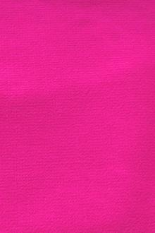 Wool Double Crepe in Hot Pink0