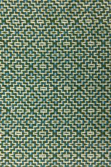 Wool Cotton Poly Geometric Tweed 0