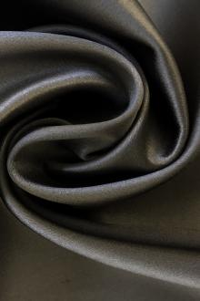 Bonded Stretch Charmeuse in Grey0