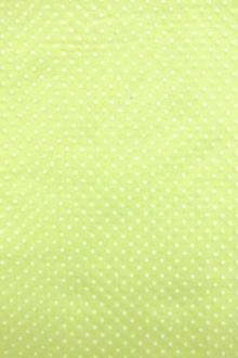 Flocked Cotton Batiste in Lime Green0