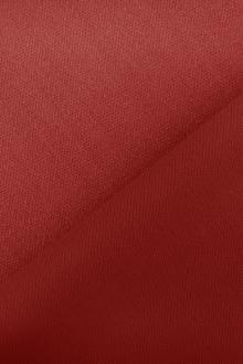Italian Wool Satin Faille in Carnelian Red0