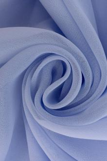 Iridescent Polyester Chiffon in Periwinkle0
