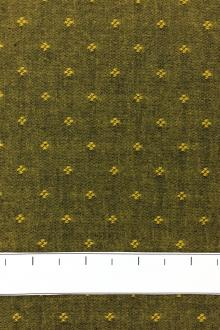 Cotton Chambray Dobby In Yellow0