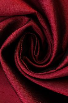 Silk and Wool Shantung in Ruby0