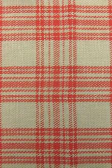 Heavy Woven Cotton Flannel Plaid 0