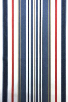 Cotton Upholstery Woven Stripe0