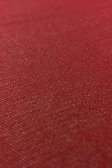 Japanese Cotton Blend Denim in Crimson0