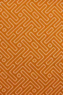 Cotton Blend Upholstery Labyrinth Brocade0