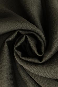 Iridescent Polyester Chiffon in Charcoal0