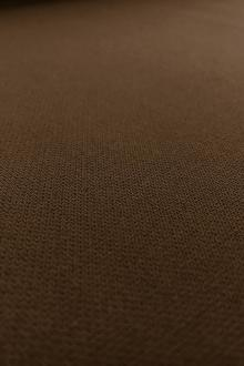 Poly Rayon Spandex Suiting in Chocolate0
