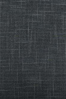 Italian Bamboo Wool Lycra Suiting in Blue0