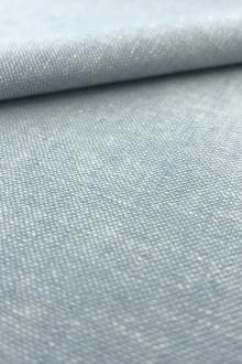 Yarn Dyed Linen Cotton Blend in Chambray0
